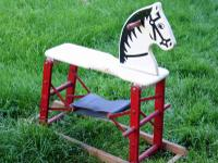 VINTAGE 1950's SAFE-t-COLT HOBBY HORSE Manufactured by