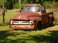 CLASSIC 1953 FORD F-100 TRUCK, SMALL REAR GLASS TYPE,