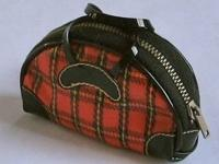 "This stylish zippered travel bag was part of ""Winter"