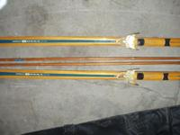 These vintage Bonna 1800 Cross Country Skis are in
