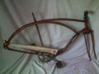 "very cool vintage 1960's frame - this is a 26"" frame -"
