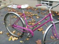 All original purple 2 speed internal yellow stripe hub.