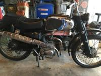 COOL ANTIQUE 1962 HONDA C110 IN VERY GOOD CONDITION ALL