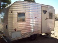 Vintage 1963 Tepee Travel Trailer. We have owned this