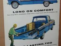 1964 Ford Pickup truck ad for sale. This ad came out of