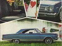 VINTAGE 1967 PLYMOUTH FURY ADVERTISEMENT that was