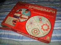 I have a Spirograph dated 1967. It's missing the