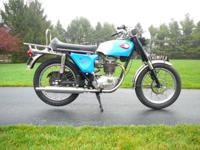 VINTAGE 1968 BSA STARFIRE B25/441CC SINGLE CYCLE This