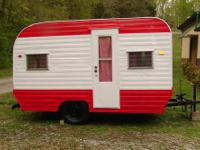 BEAUTIFUL VINTAGE 1968 JET TRAVEL TRAILER This is a