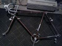 I HAVE A BEAUTIFUL 1970 LYGIE ITALIAN ROAD BIKE FRAME
