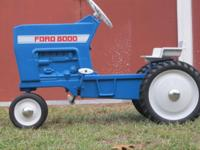 For Sale: Vintage 1970's Ford 8000 Pedal Tractor
