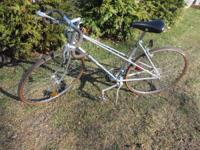 bicycle has been stored for along time, nice shape,