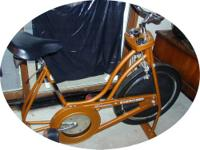 I have for sale a 1970's Schwinn stationary bicycle.