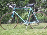 This is a very lightweight bike. It was built by Trusty