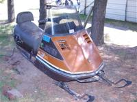 1972 VINTAGE SKI DOO SNOWMOBILE HAS A RESERVE -- 719