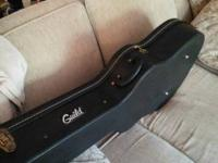 This Guild Guitar is a very nice 1976 Guild, it has new