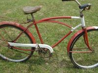 This vintage bike is in excellent condition for its