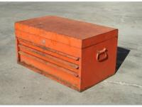 ================ Vintage 1976 Snap-On toolbox chest, 3