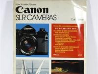 This is vintage How To Use Canon SLR Cameras copyright