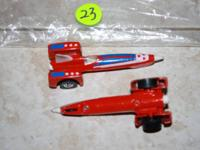 For Sale: ( 1 )  vintage 1979 Hot Wheels Tricar Red Car