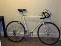 This is an early 1980's De Rosa steel frame bicycle. It