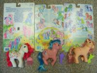 I have an abundance of My Little Ponies available for