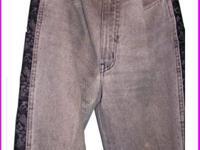 This unique unusual Moschino design jeans