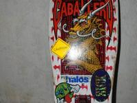 I have a vintage 1987 Steve Caballero skateboard for