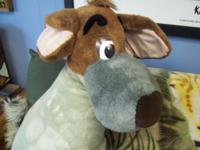 I have a remarkable Dodger the Dog plush from Disney's