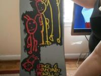 "Vintage 1989 Powell Peralta Lance Mountain ""Family """
