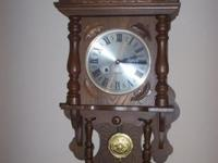 Up for sale is a Vintage Wall Clock from the 70's? It
