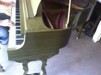 4'9' Baby Grand Aeolian Stroud Piano (3 tone Green) BUY