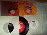 Up for sale I have a selection of 45 RPM records there
