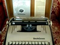 HERE A 1950'S SMITH-CORONA TYPEWRITER! GREAT CONDITION!