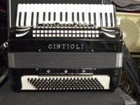 Vintage Cintioli Accordion Full Size Made in