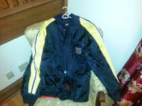 This is a vintage Ski-Doo Blizzard snowmobile coat in