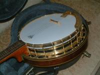 "I'm offering a stunning ""Circa 1970"" 5-string banjo. It"