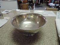 "Classic 8"" Gotham Silver Plated Bowl EP YC780, Paul"