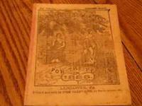We are selling 26 issues of Agricultural Almanacs (Date