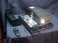 I have a VINTAGE AIREQUIPT 135 SLIDE PROJECTOR 2X2