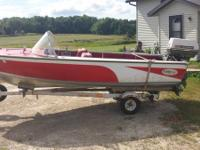 I have an early 60s 15ft aluminum watercraft. It has a