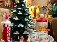 Vintage Aluminum Christmas Tree $60 Country Garden