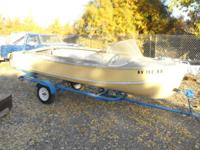 Selling my vintage aluminum Crestliner boat and