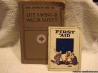 The American Red Cross Life Saving & Water Saftey book