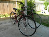 I am selling a set of the 1970's AMF Nimble bikes. One