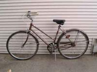 Vintage circa 1960s/1970s AMF Roadmaster Bicycle.