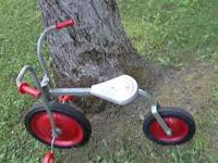 VINTAGE ANGELS METAL AND ALUMINUM CHILDRENS BIKE. SOLID