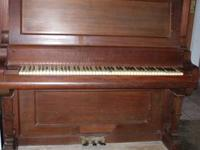 For sale is a vintage antique Capen upright piano from