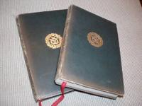 RARE EDITIONS ~ VINTAGE 1841 & 1844 VOLS. I & II