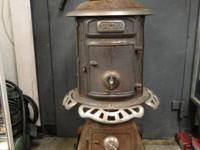 "Vintage Antique Dort Oak No. 115 Wood Coal Stove ""The"